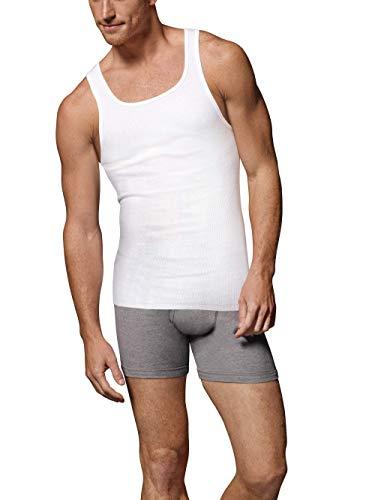 Hanes Tall Men's ComfortSoft Fresh IQ A-Shirt Tank Top - 5 Pack White