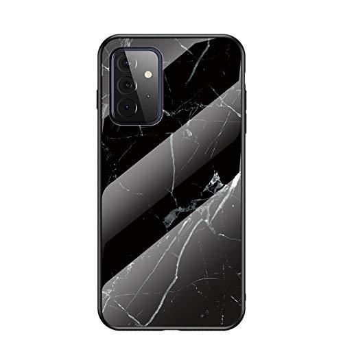 Babeel Capa compatível com Nokia X7/8.1, estampa de textura de mármore branco, design IMD, capa protetora fina e flexível de TPU para Nokia X7/8.1. preta