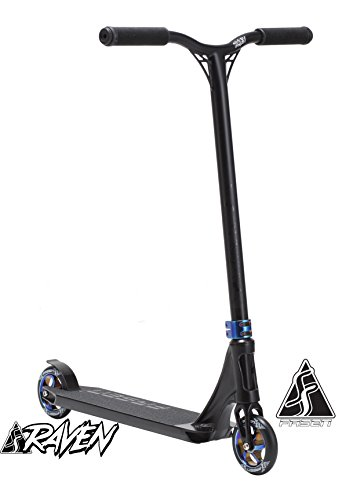 FASEN RAVEN COMPLETE SCOOTER – BLACK/OIL SLICK