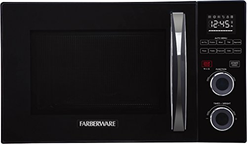 Farberware FMO10AHSBKA Countertop with Healthy Air Fry and Grill/Convection Function 1.1 Cu. Ft. Black