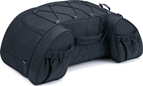 Kuryakyn 5281 Momentum Hitchhiker Motorcycle Travel Luggage: Weather Resistant Trunk Rack Bag, Black