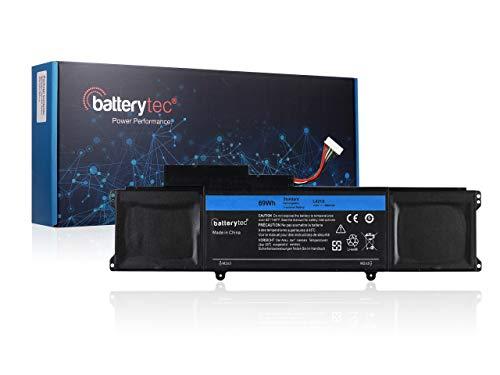 BATTERYTEC Akku für Dell XPS 14 Ultrabook Series, Dell XPS 14-L421x Ultrabook Series, XPS L421x Ultrabook Serie, Dell C1JKH 4RXFK. [14.8V 69Wh, 1 Jahr Garantie]