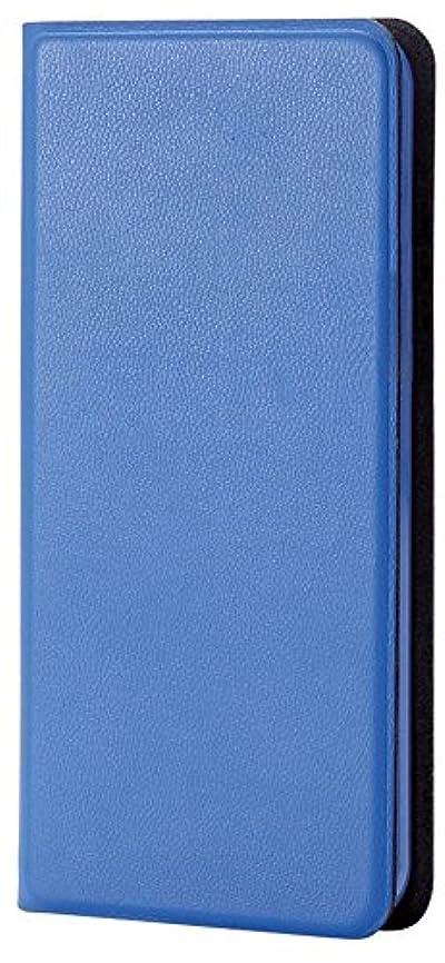 価格第四知り合いになるエレコム iPod Touch 【第6世代】 レザーカバー カードポケット付 横型フラップ 薄型 ケース ブルー AVA-T15PLFUBU