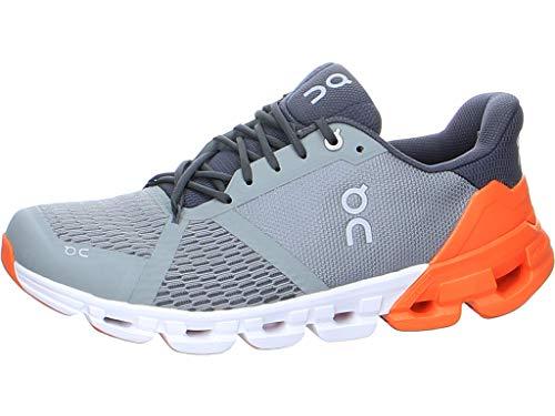 On Running M Cloudflyer Grau, Herren Laufschuh, Größe EU 44.5 - Farbe Grey - Orange