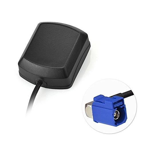 Bingfu GPS Auto Luchtantenne Fakra C Adapter met RG174 3m 9.84ft Fakra Verlengkabel GPS Actieve Antenne voor BMW CCC CIC NBT EVO Audi MMI 2G 3G 3G+ MIB