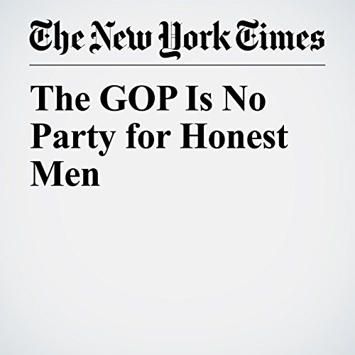 The GOP Is No Party for Honest Men copertina