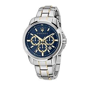 Reloj para Hombre, Colección SUCCESSO, en Acero, PVD Oro – R8873621016
