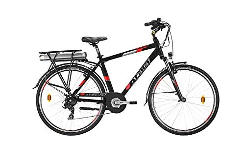 NUOVO MODELLO ATALA 2021 BICI Trekking Front ELETTRICA E-Bike E-Run FS 7.1 BLACK/RED MOTORE 500 MISURA 49 (M)