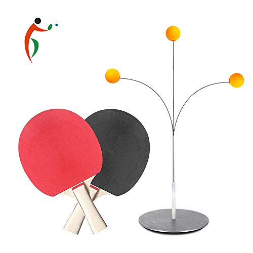 Purchase YZU Table Tennis Trainer Training Equipment, Ping Pong Balls Paddles for Beginners Children...