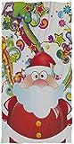 Wheatleya Feliz Navidad Papá Noel Toallas de Mano Paños de algodón Paño Facial Paños de Lavado...
