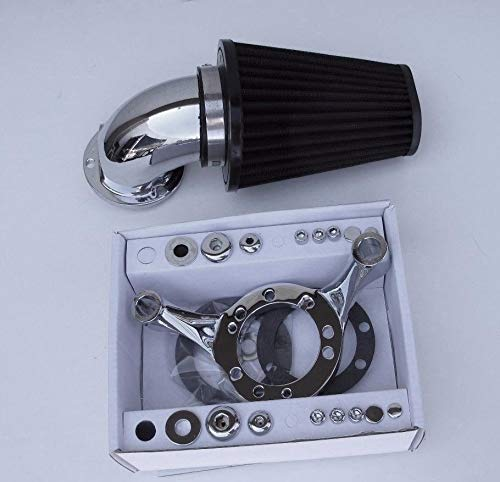 ACCESSORIESHD - SCREAMING EAGLE STYLE AIR CLEANER FILTER KIT CV CARB HARLEY SOFTAIL DYNA TOURING