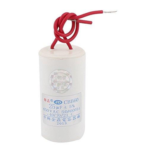 AC450V 25uF 5% della pellicola del polipropilene motore condensatore per lavatrice