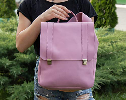 INCARNE Best Leather Travel Bag - Weekender Bags for Women & Teen Girls - Hiking Camping Accessories Carry on Luggage - Small Bookbags for Teens - Girlfriend Gifts - Business Office Supplies - Gym Bag