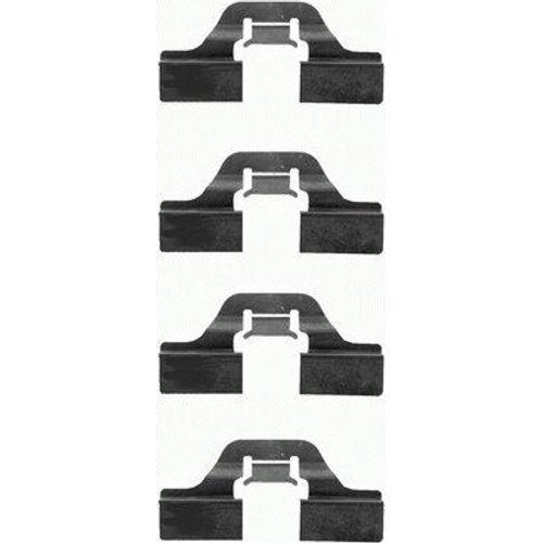 Preisvergleich Produktbild HELLA PAGID 8DZ 355 202-621 Zubehörsatz,  Scheibenbremsbelag,  Hinterachse oder Vorderachse