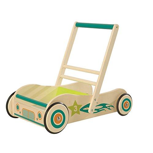 roba Lauflernwagen, Spiel-und Lauflernhilfe aus Holz mit Bremse