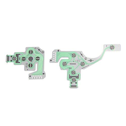 booEy PS4 Dualshock Controller Flex Film Platine Tasten Folie Leiterbahn Neues Modell
