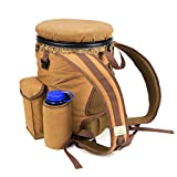 Peregrine Field Gear PFG-VBP3B-BRN Venture Hunting Bucket Backpack Combo, Brown Canvas, 5 Gallon