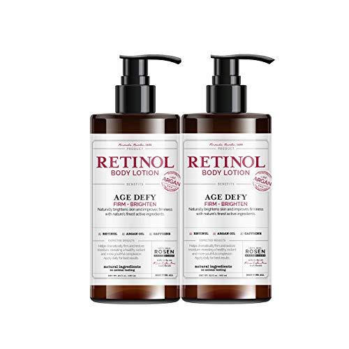 Rosen Apothecary Anti-Aging Retinol Body Lotion – Age Defy – Body Firms & Brightens