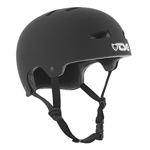 TSG Helm Evolution Solid Color, (Schwarz (Flat-Black), S/M, 75046