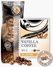 Coffee-Nation Aroma-Kaffee Vanilla 1000g Bohnen | Spitzenqualität | Kaffeeliebhaber