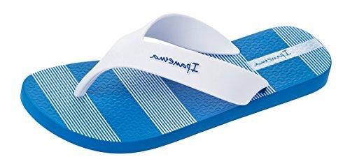 Ipanema Deck para Hombre Chanclas Sandalias -Blue-39/40