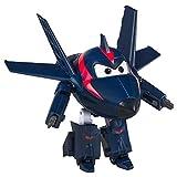 LUNE Super Wings Transformable Juguetes Agent Chace Regalo De Niño Robot De Deformación Aeronave Coche Navidad Cumpleaños Año Nuevo Regalo Plano Deformado 5Inch 15CM