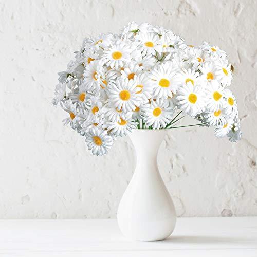 AmyHomie Artificial Flocked Lavender Bouquet Artificial Flowers for Home Decoration, Wedding Decor