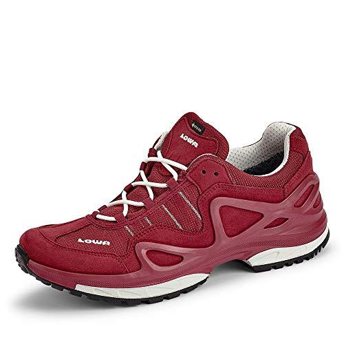 Lowa W Gorgon GTX Rot, Damen Gore-Tex Hiking- und Approachschuh, Größe EU 40 - Farbe Rot - Weiß