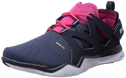 Reebok Herren Zcut Tr Sportschuh, blau/pink, 45.5 EU