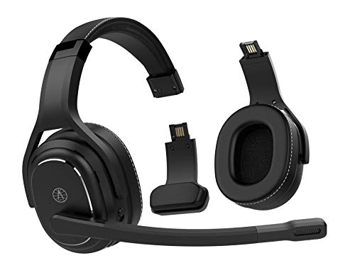 Rand McNally ClearDryve 220 Premium 2-in-1 Wireless Headset for Clear Calls with Noise Cancellation, Long Battery Life & All-Day Comfort