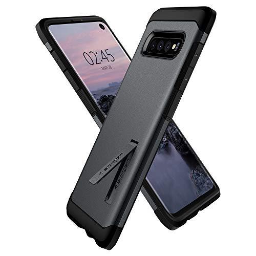 Spigen Cover Tough Armor Compatibile con Samsung Galaxy S10 - Graphite Gray