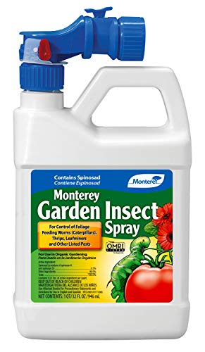Monterey LG6138 Garden Insect Ready to Spray Insecticide/Pesticide, 32 oz