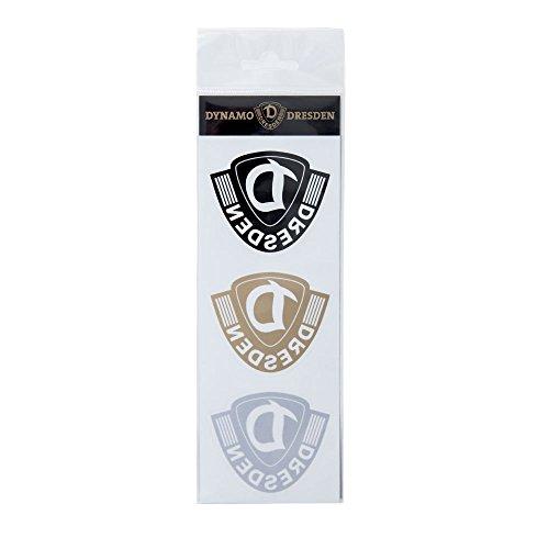 SG Dynamo Dresden Aufkleberkarte 3er Logo Innenklebend