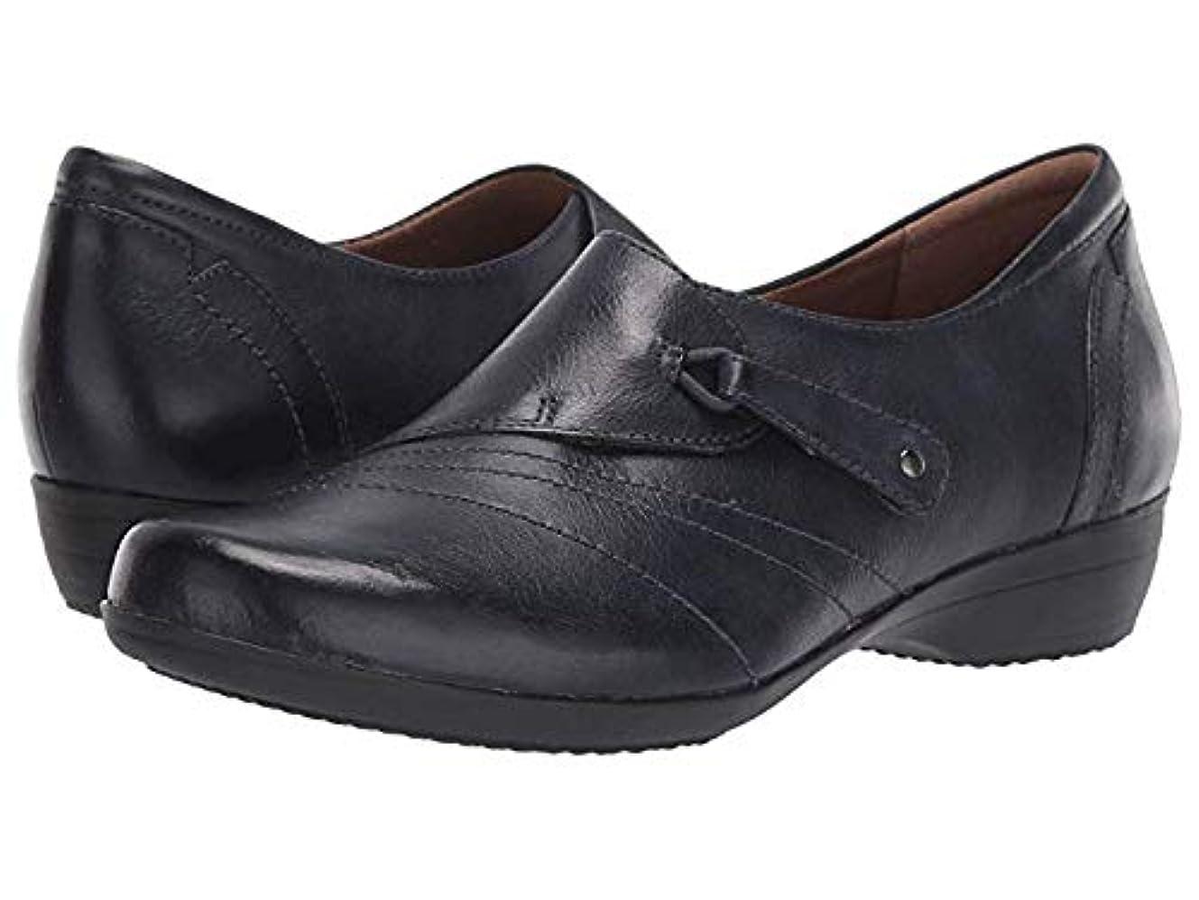 構想するアラブサラボ適格レディースローファー?靴 Franny Navy Burnished Calf (23.5-24cm) Regular [並行輸入品]