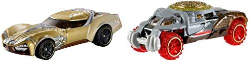 Hot Wheels DC Wonder Woman 2er Fahrzeug Set Character Fahrzeuge - Fahrzeug Wonder Woman vs Ares