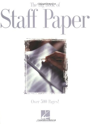 Price comparison product image The Big Book of Staff Paper
