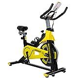 Bicicleta De Silencio con Control Magnético Bicicleta De Spinning De Jardín Bicicleta De Casa Equipo De Ejercicios para Pérdida De Peso En Interiores, Volante De 13 Kg