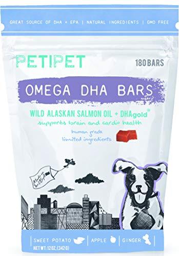 PETIPET Fish Oil Dog Supplement - Raw Diet - Skin, Coat, Inflammation...