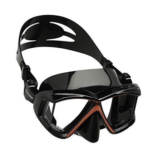 MHSHKS Máscara De Snorkel Completa Máscara Equipo De Snorkel Profesional Cara Completa Antivaho Máscara De Buceo con Vista Amplia para Una Experiencia Segura De Snorkel para Adultos/Niños