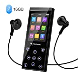 MP3 Player, 16GB MP3 Player with Bluetooth 4.2, Portable HiFi...