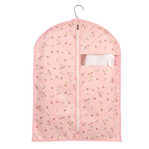 Sacs de rangement Xuan - Worth Another Motif de Cerise Rose 5 pièces de vêtements lavables Housse de Protection de fenêtre de Couverture de fenêtre Housse de Valise de Haute qualité