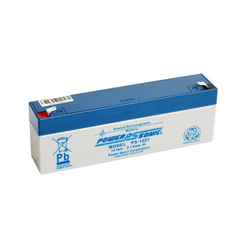 Power Sonic PS122112V 2.1Ah AGM Akku–Geeignet für Antwort Alarm, Alarmanlage, Sicherheit Alarm, Fire Alarm, Solar Alarm & Bell