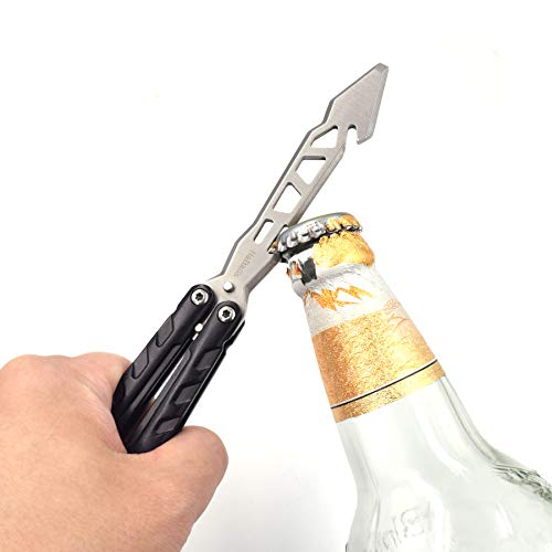 Nabalis Mechanical Feeling Versatile Tool with Screwdriver Spanner and Bending Tool