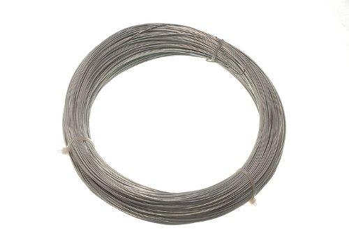 24 x 500g de poids galvanisé clôture de jardin fil 0,7 mm 160 Mètres