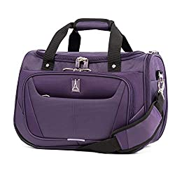 small Travelpro Maxlite 5 Light Travel Bag, Under Seat, Imperial Purple, 18 ""