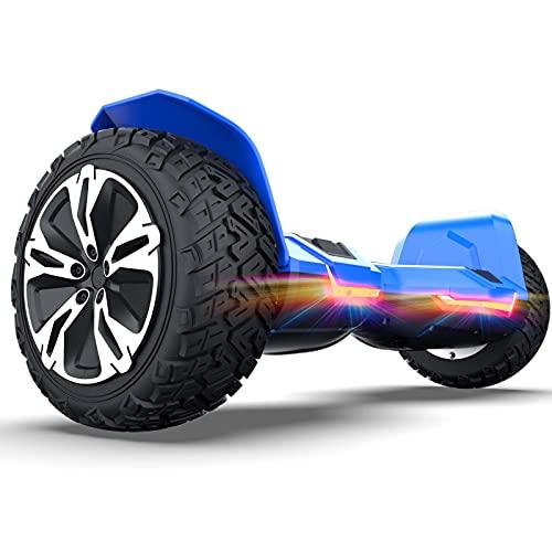 Scooter autoequilibrado de 8.5', SUV, 2 ruedas, autoequilibrado, scooter, altavoz Bluetooth con altavoz de aplicación, scooters eléctricos para adultos, hoverboard para niños
