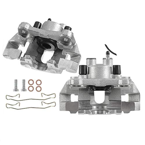Set of 2 Rear Driver and Passenger Brake Caliper Assembly Compatible with 1999-2004 Jeep Grand Cherokee