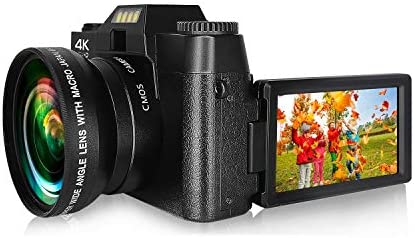Digital Camera Vlogging Camera 4K 48MP Full HD Camera with WiFi Video Camera with 16X Digital product image