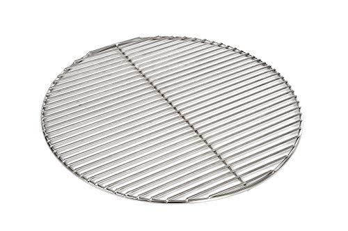 Grillrost Ø 54 cm aus Edelstahl rostfrei und elektropoliert 4mm / 10 mm Stababstand für Grill rund, Kugelgrill, Feuerschalen Grillschalen Rundgrill