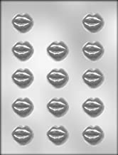 CK Products 90-1043 1-3/8-Inch Smoochettes Chocolate Mold, 1 Count, Clear